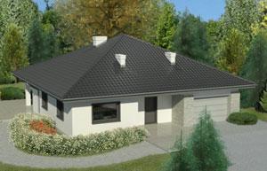 Rubinowy  dach – czyli dachówka ceramiczna Rubin I3V