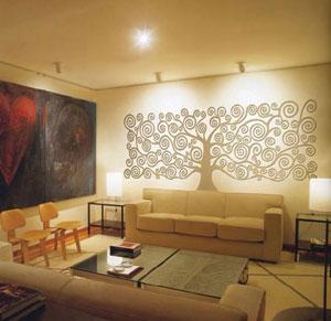 Rilievi Fiorentini – linia dekoracyjnych samoprzylepnych naklejek ściennych imitujących płaskorzeźby
